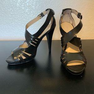 Nine & Co. Shoes - Nine & CO Black Strappy Heel